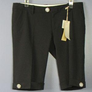 Miss Me NWT Black Dressy shorts  M